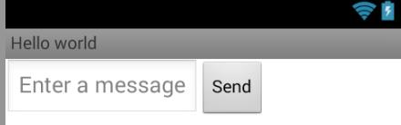 Создаем простой android интерфейс